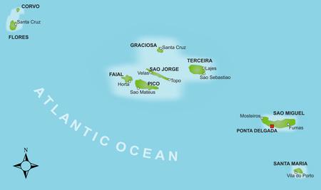 Azoren Karte.Land Und Leute Vista Verde Azores Gmbh Vista Verde Azores
