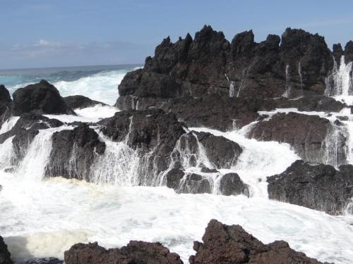 Terceira_Lavafelsen Küste