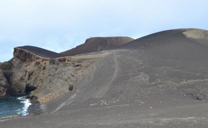 Azoren_Neues Land bei Capelinhos_Faial