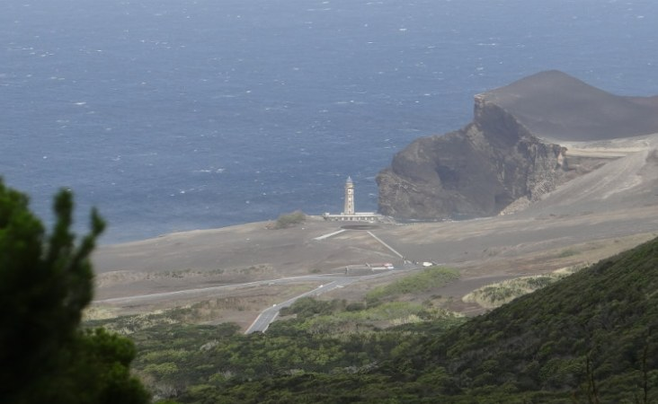 Azoren_Capelinhos mit Neuem Land_Faial