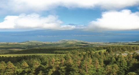 Faial_Ausblick mit Insel Pico