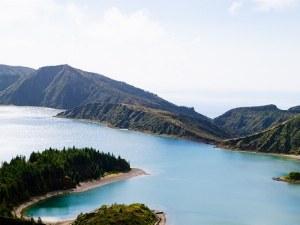 Lagoa do Fogo_vista verde azores